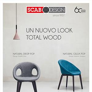 Poltroncine Scab Design: nuovo stile Total Wood