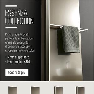 Termoarredi Ridea, Essenza collection: soli 6 mm di spessore