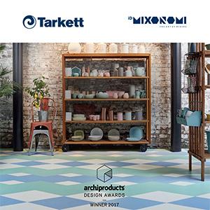 Pavimenti vinilici personalizzabili iD Mixonomi di Tarkett