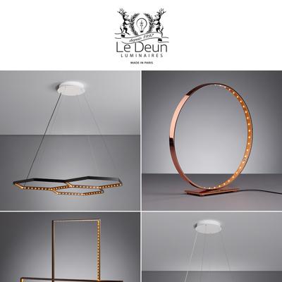 Illuminazione geometrica a LED by Le Deun Luminaires