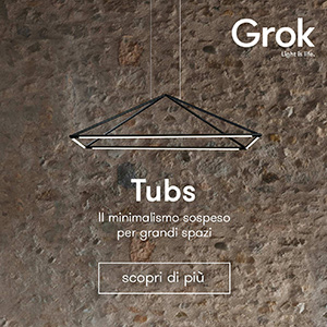 Linee piramidali che illuminano: Tubs by Grok