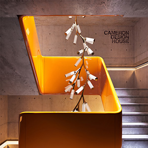 Sculture luminose su misura handmade in London - Cameron Design House