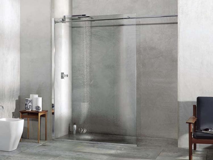 SOLODOCCIA - cabina a giorno per tutti i piatti doccia