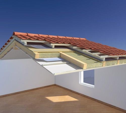 Pannello rigido in lana di roccia senza rivestimento - Isolare tetto dall interno ...