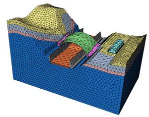 Software 3D per analisi geotecniche - MIDAS/GTS 2010