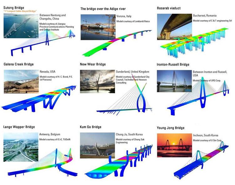 Software per analisi e progettazione di ponti - MIDAS/Civil 2010
