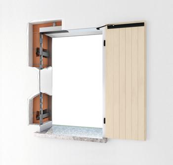 Controtelaio per finestre - AMIKO®