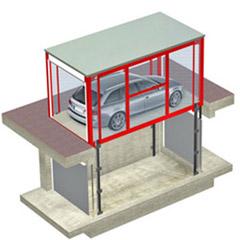 Montauto con cabina per accesso a garage - CITYCUBE MONTAUTO CM4 - UPDINAMIC
