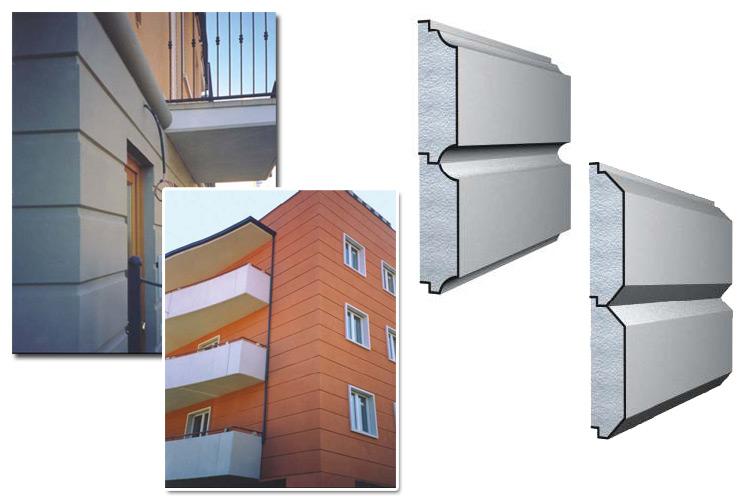 Profili decorativi in polistirene - DEKORBAU®