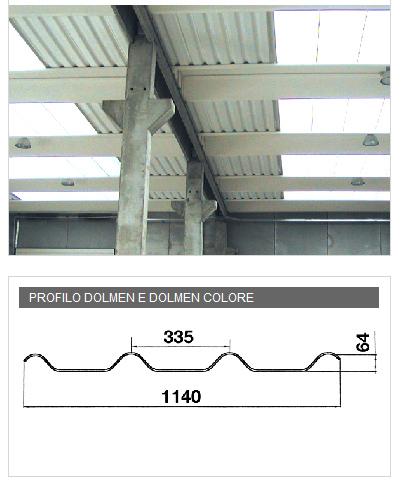 Lastra in PVA cemento per soffittature - DOLMEN e DOLMEN COLORE