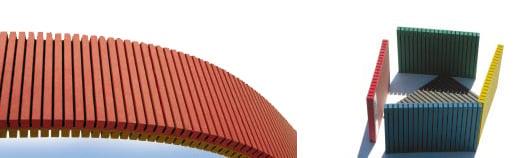 Pannello fonoassorbente in fibra di vetro - MDF TOPAN® colour FF