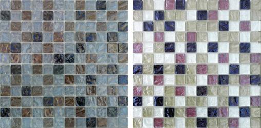 ONDE - Mosaico in vetro