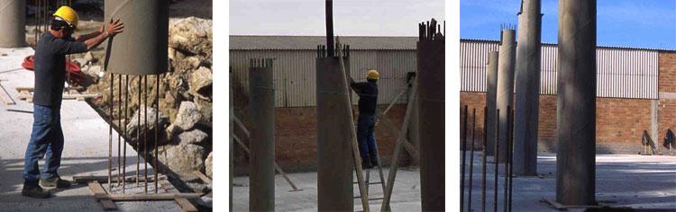 Pilastro a struttura mista - Pilastro SER