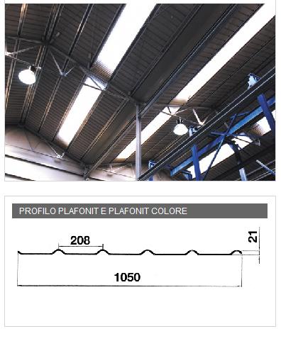 Lastra in PVA cemento per soffittature - PLAFONIT e PLAFONIT COLORE