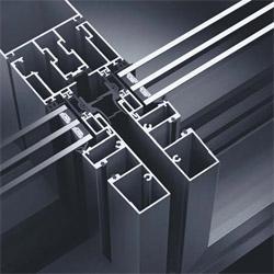 Sistema per facciata continua sch co e sch co for Finestre anodizzate