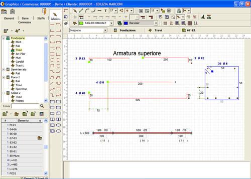 Software di gestione della produzione delle armature - SISTEMA GO - SCHNELL