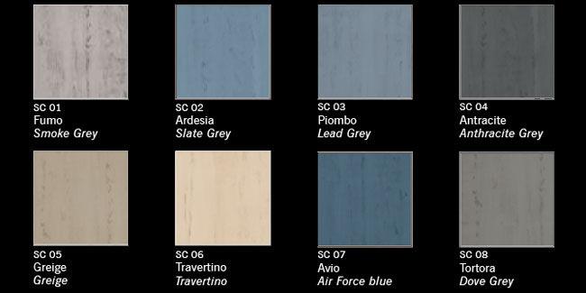 Finitura decorativa effetto cemento - Linea Colors - SOUL CEMENT