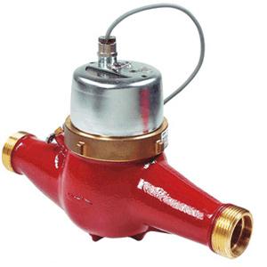 Счетчики воды крыльчатые Zenner MTHI Dn25 (Германия) для измерения объема горячей воды при температуре от 5...