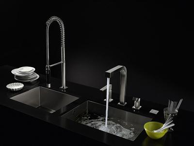 Rubinetteria e lavelli cucina - WATER ZONES