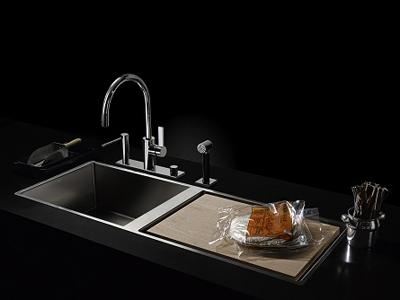 Lavello / rubinetto da cucina WATER ZONES By Dornbracht design ...