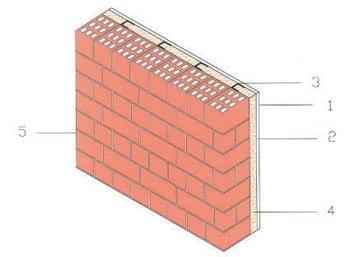 ... utilizzata per l'isolamento termo-acustico di pareti divisorie
