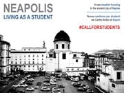 #Callforstudents: 'Neapolis, Living as a student'