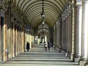 Immagine coordinata del sistema portici e gallerie di Torino