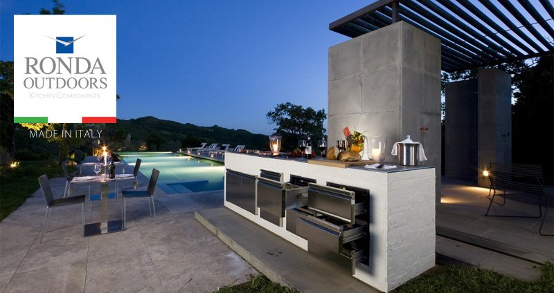 Outdoor Kitchen Doors And Drawers In Stainless Steel: Ronda Outdoor