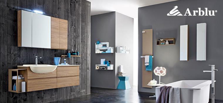 nuova collezione bagno arblu hito con termoarredi livingstone - Arblu Arredo Bagno