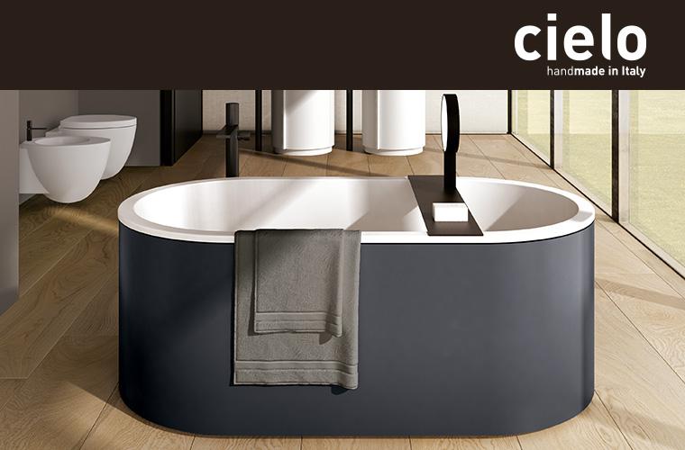 Ceramica cielo arcadia vasche e lavabi freestanding for Cielo arredi