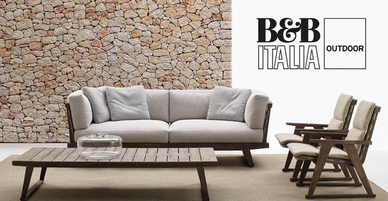News 2016 b b italia outdoor presenta gio by antonio citterio for Poltrone e sofa pescara