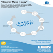 Nuovo programma Conergy Make It Easy: scopri i vantaggi