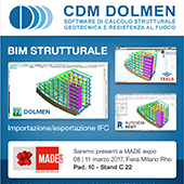 CDM Dolmen al MADE con software omaggio