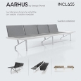 ICEX ESPA�A EXPORTACI�N E INVERSIONES # INCLASS MOBLES S.L. - Multipurpose seating collection: Aarhus, design by Jorge Pensi