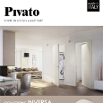 PIVATO - Hinged wooden door Pivato Inversa collection