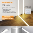 LUCIFERO'S - Linear LED sources for direct diffused lighting emission Microfile Lucifero's