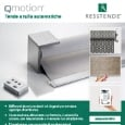 RESSTENDE - Tende decorative con automazione wireless QMotion Resstende