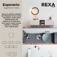 REXA DESIGN  - Modular storage units and bathroom accessories Esperanto by Rexa Design
