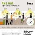 BENE - Nice Wall: innovative room concept for co-creation