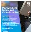 PHILIPS - Philips luminous textile: Play with light, texture and dynamic content