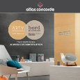 CERAMICHE ATLAS CONCORDE - Two surfaces, a unique design solution: Arty&Bord by Atlas Concorde