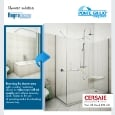 PONTE GIULIO - Replace your old tub with a brand new shower solution by Ponte Giulio