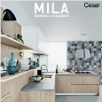 CESAR ARREDAMENTI - New MILA kitchen by Cesar: sharp and minimalist lines