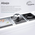 GUTMANN - Abajo, the new modular downdraft by Gutmann