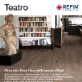 CERAMICHE REFIN - New Ceramiche Refin collection inspired by the interiors of the Italian Theatre