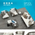 RODA - Roda outdoor: Spool collection - design Rodolfo Dordoni