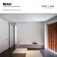 VIBIA LIGHTING SLU - Match by Vibia: ceiling light sculptures