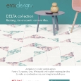 ENTICDESIGNS  - Rectangular encaustic cement tiles: Delta by Enticdesigns