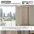 BERTOLOTTO PORTE S.P.A. - Water resistant frames and trims Materik by Bertolotto Porte