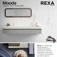 REXA DESIGN - Modular bathroom�s collection: Moode by Rexa Design